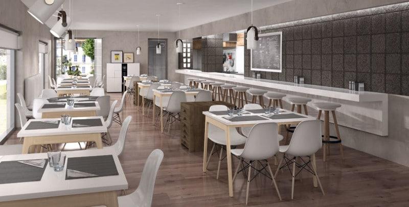 Paneles-acústicos-Legnomuro-restaurante